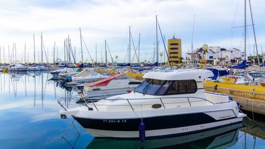 Puerto deportivo de Aguadulce en Roquetas de Mar