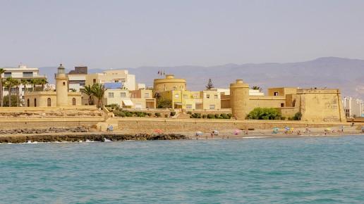 Castillo de Santa Ana en Roquetas de Mar