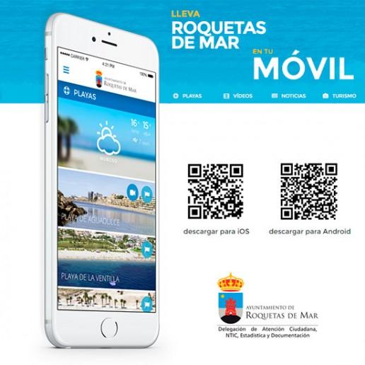 App Ayuntamiento - Turismo Roquetas de Mar
