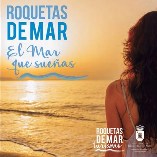 cartel guia roquetas de mar