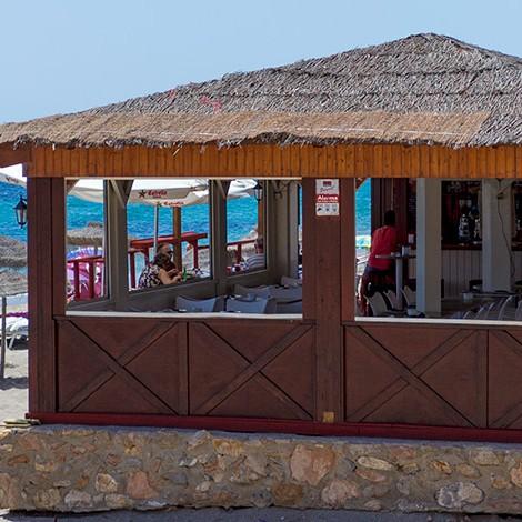 Chiringuito el Cubano en Aguadulce, Roquetas de Mar