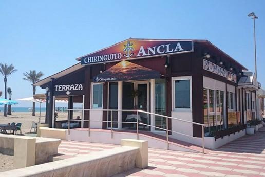 Chiringuito El Ancla Turismo Roquetas de Mar