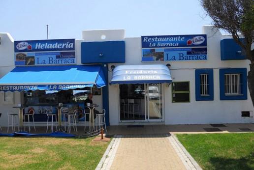 Chiringuito La Barraca Playa Turismo Roquetas de Mar