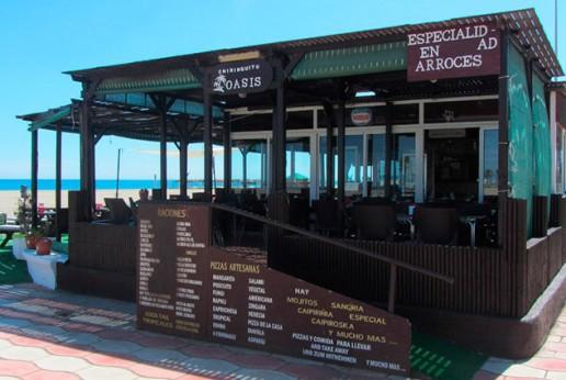 Chiringuito Oasis Playa Turismo Roquetas de Mar