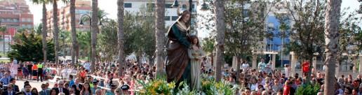 Fiestas de Santa Ana en Roquetas de Mar