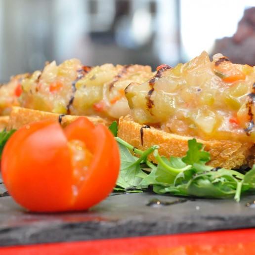 Gastronomía de Roquetas de Mar Ensalada de Orégano