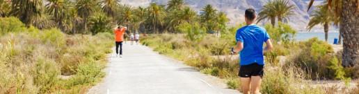 Pasear junto a la Ventilla en Roquetas de Mar