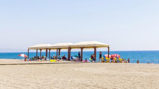 Playa de la Bajadilla - Turismo Roquetas de MarPlaya Ventilla - Turismo Roquetas de Mar