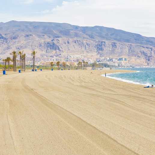 Playa Las Salinas - Turismo Roquetas de MarPlaya Ventilla - Turismo Roquetas de Mar