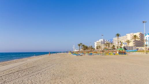 Playa de la Urbanización - Turismo Roquetas de MarPlaya Ventilla - Turismo Roquetas de Mar