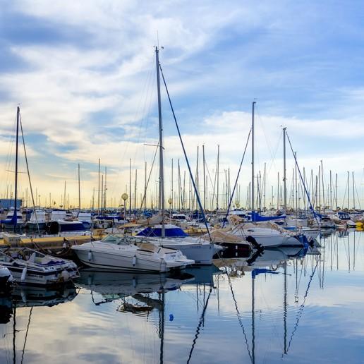 Puertos deportivos de Roquetas de Mar