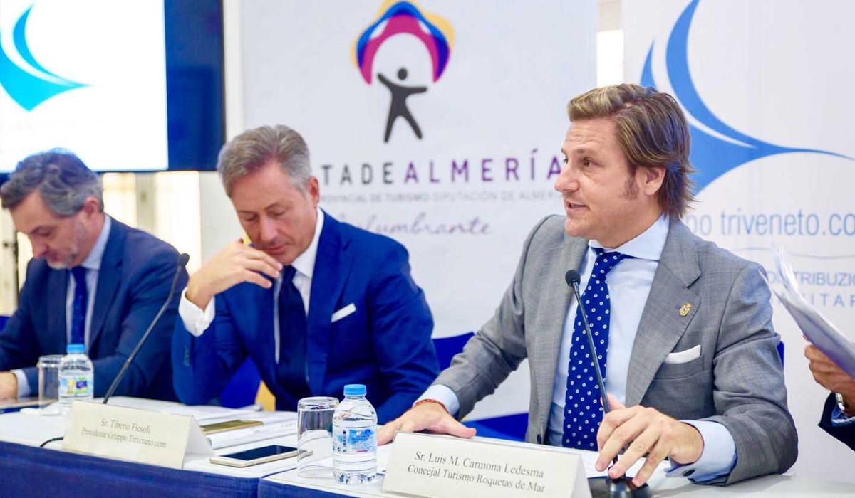 Roquetas de Mar recibe a 780 italianos que participarán en el XV Meeting Tiveneto.com