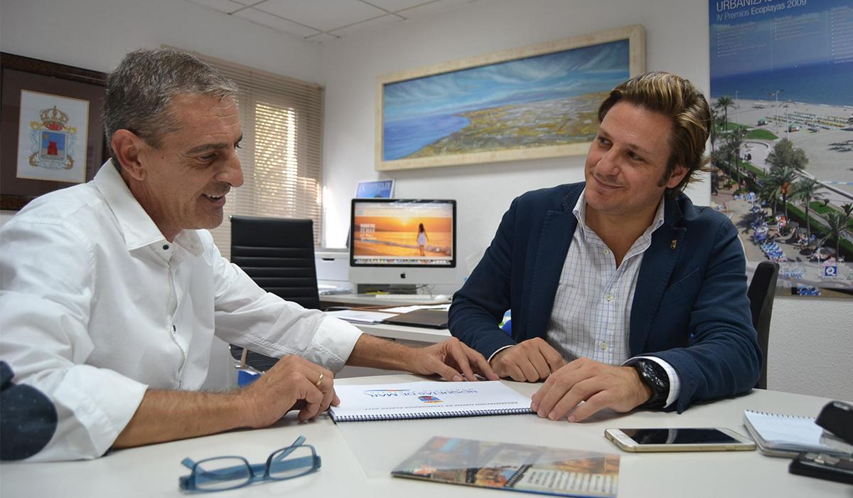 """Roquetas promocionará """"El mar que sueñas"""" en el mercado inglés durante la World Travel Market"""