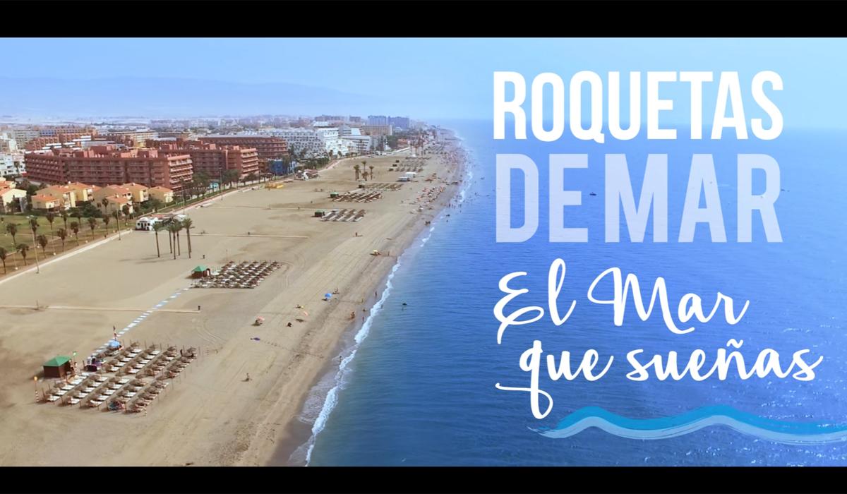 El spot promocional de Roquetas de Mar ha sido visto ya por casi 135.000 personas en un mes