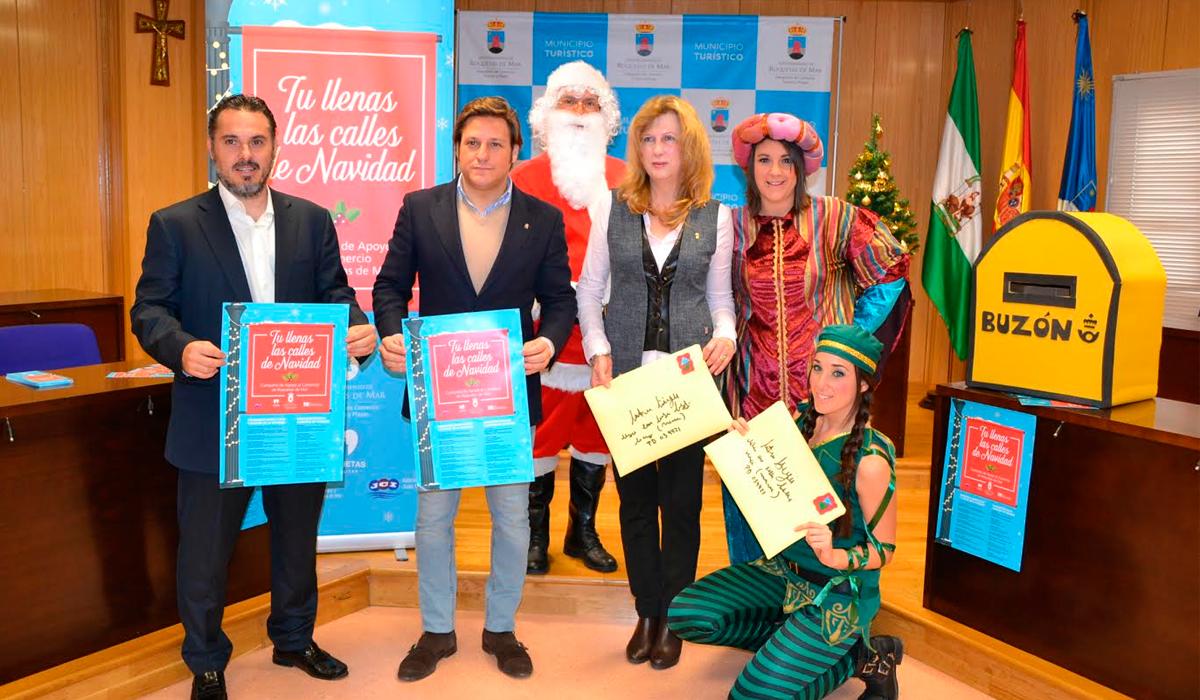 """La Concejalía de Comercio anima a los roqueteros a """"llenar las calles de Navidad"""""""