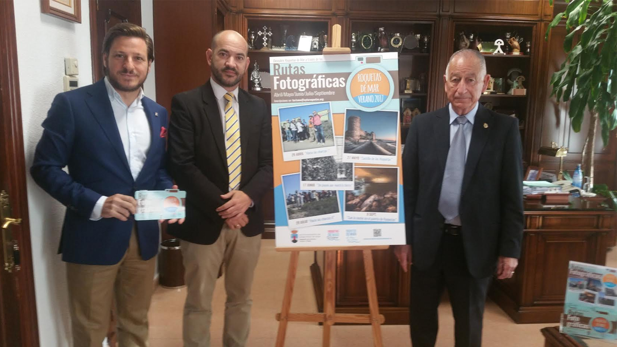 """La Concejalía de Turismo impulsa nuevamente  las """"Rutas Fotográficas (Roquetas de Mar -Verano 2017)"""""""