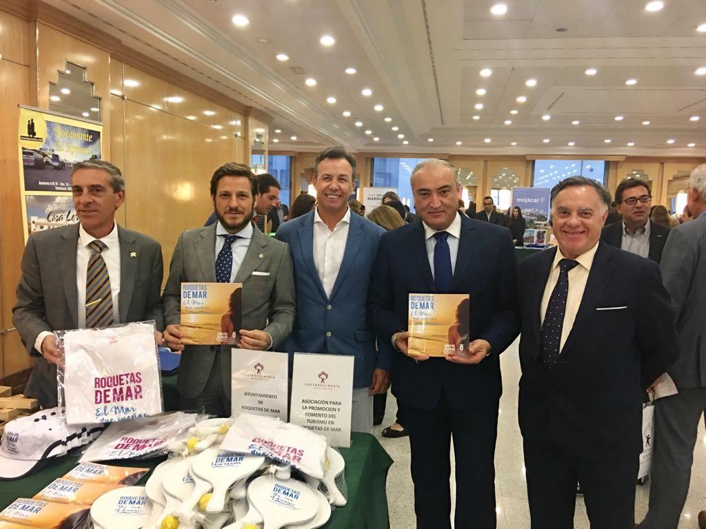 """Presencia municipal y empresarial en Roadshow """"Costa de Almería"""""""
