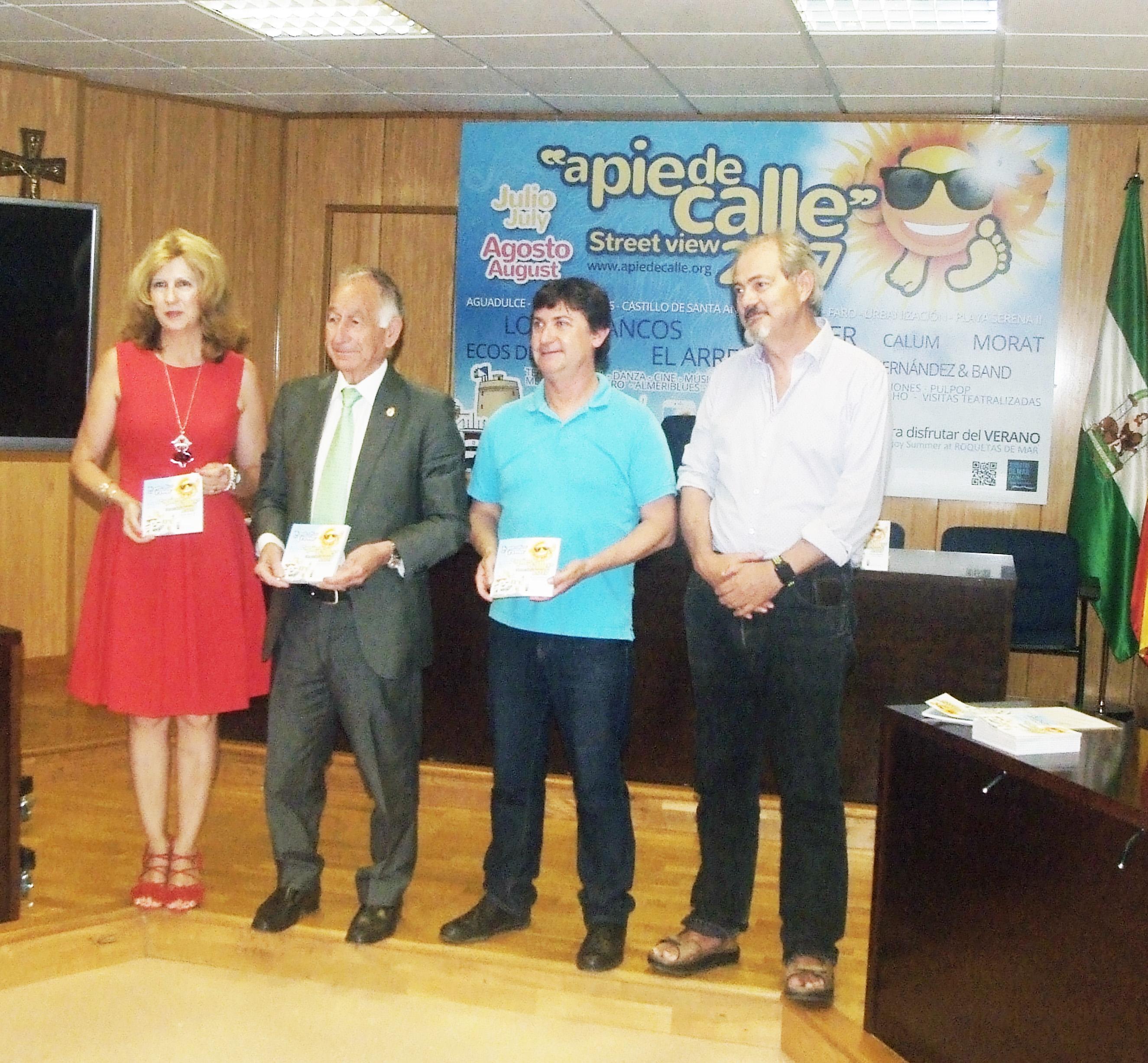 Roquetas presenta el programa 'A pie de calle' que ofrecerá unas 120 actividades durante julio y agosto