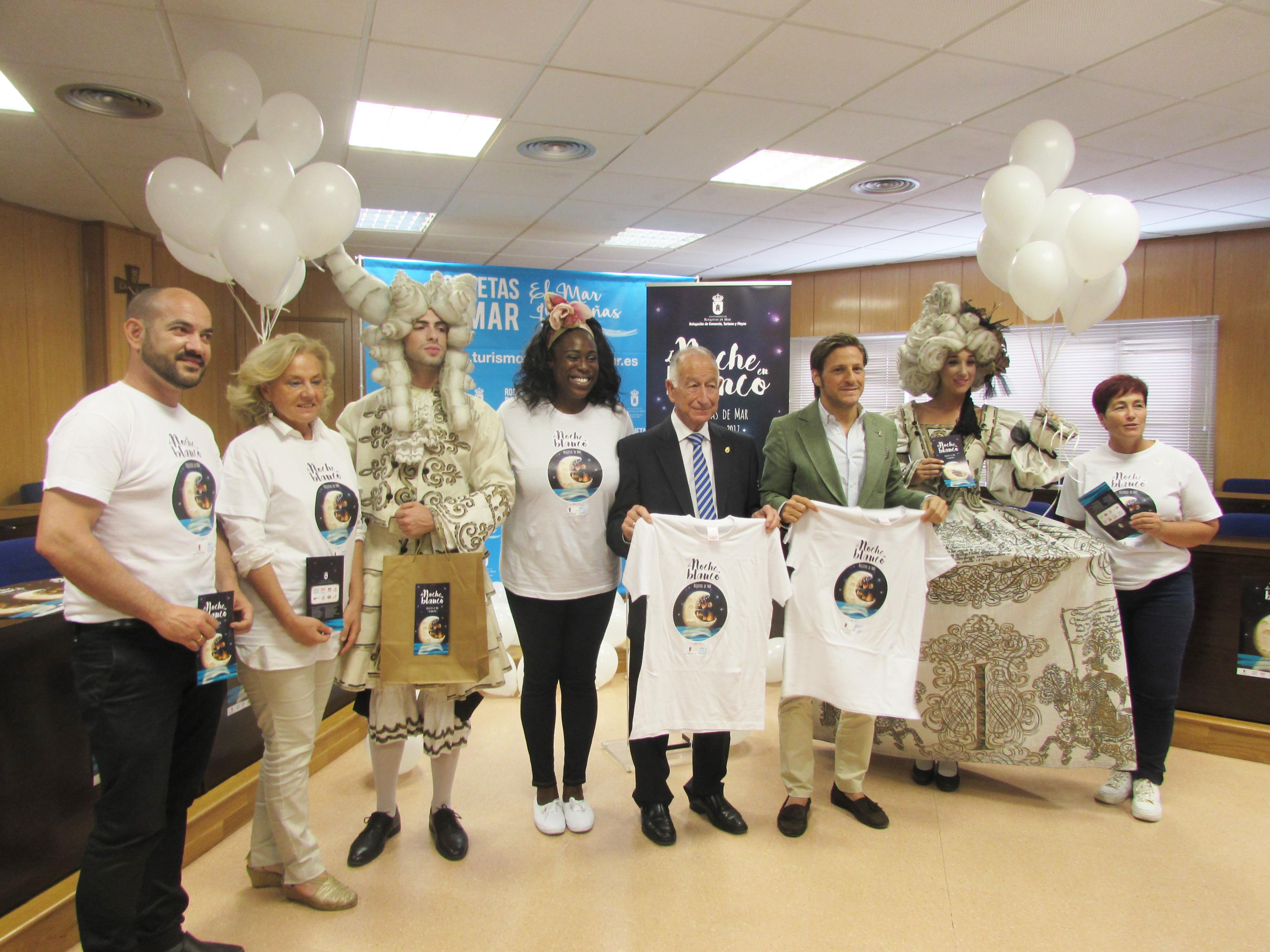 Roquetas celebrará  su II edición de la  'Noche en Blanco' con importantes novedades