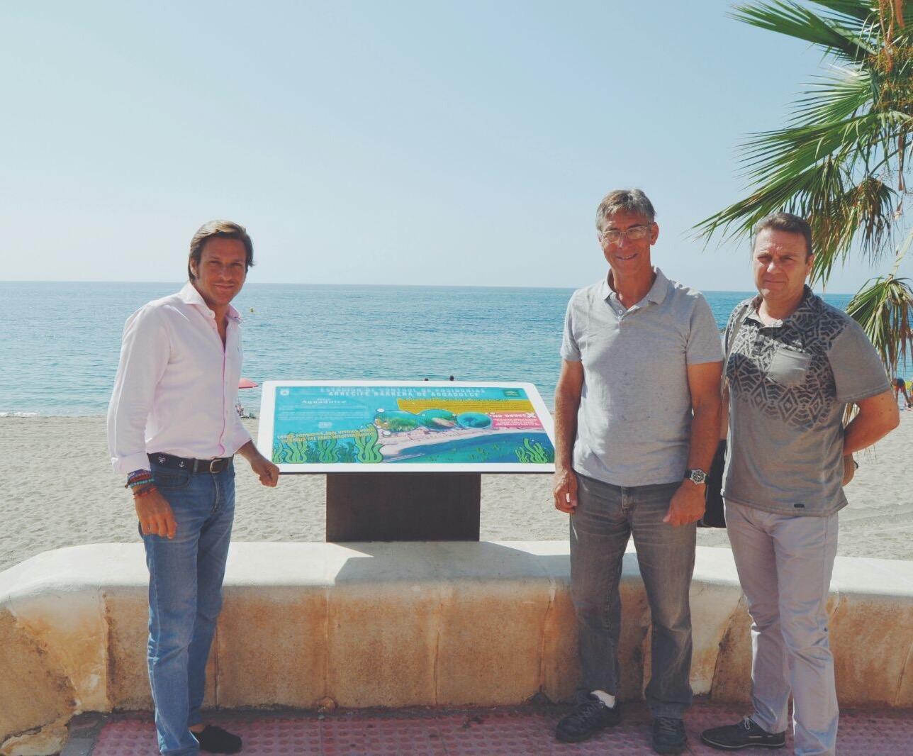 Buen comienzo para la Estación de Control de Arrecife de Posidonia Oceánica de la Playa de Aguadulce