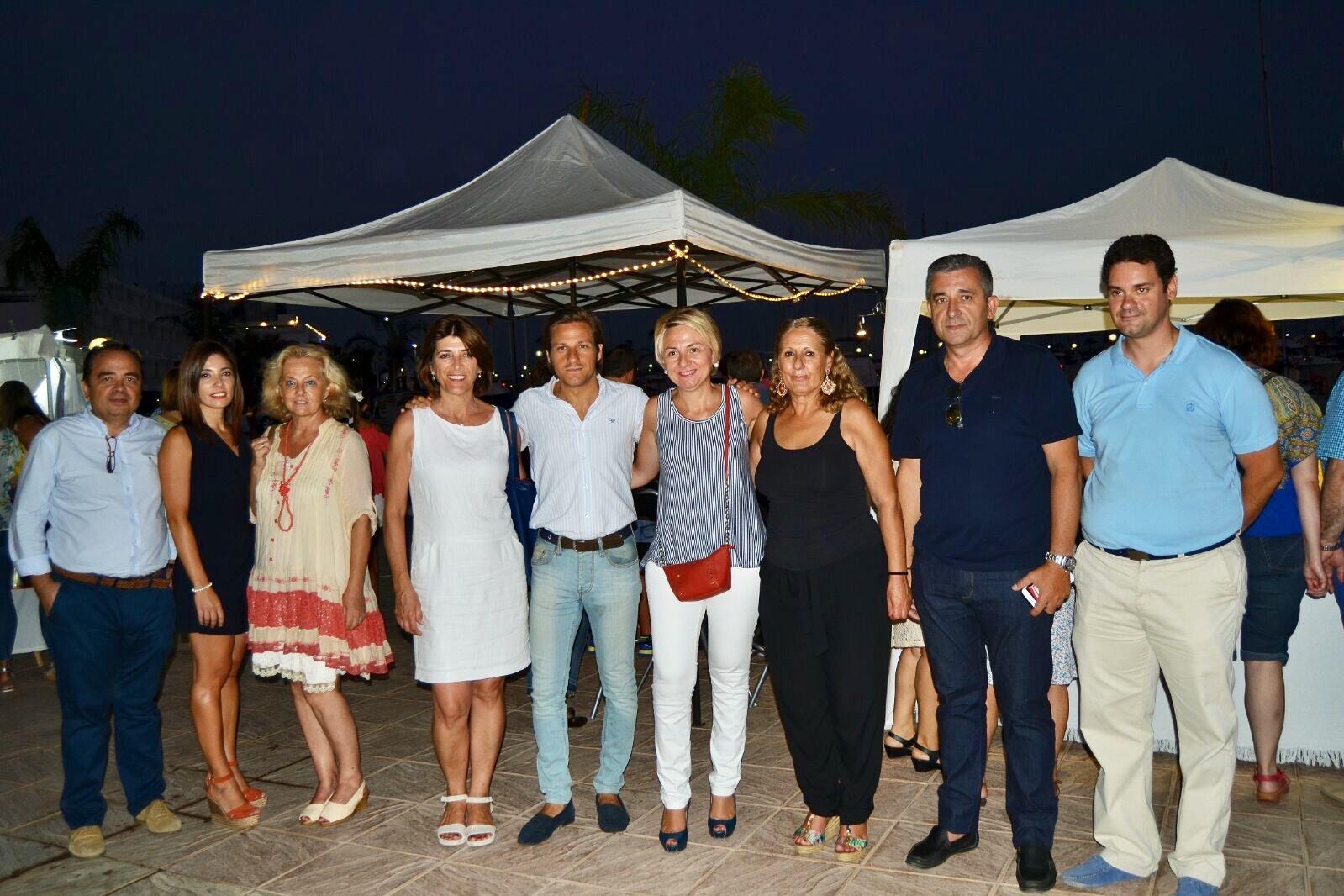 Gran éxito del Gastro-Art celebrado el viernes en el Puerto Deportivo de Aguadulce