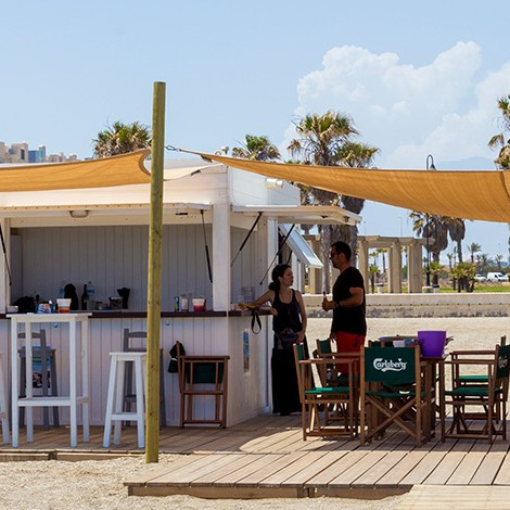 Chiringuito The Beach Club en Playa Serena
