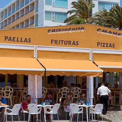 Chiringuito Chávez en Playa Serena
