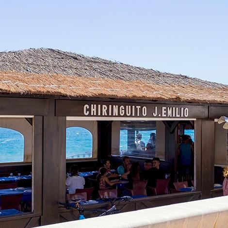 Chiringuito J. Emilio en Aguadulce
