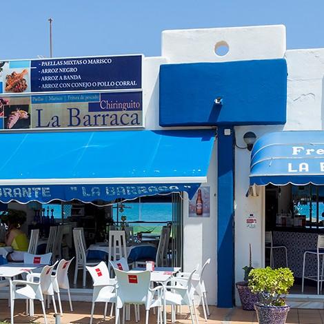 Chiringuito La Barraca en la Urbanización de Roquetas de Mar