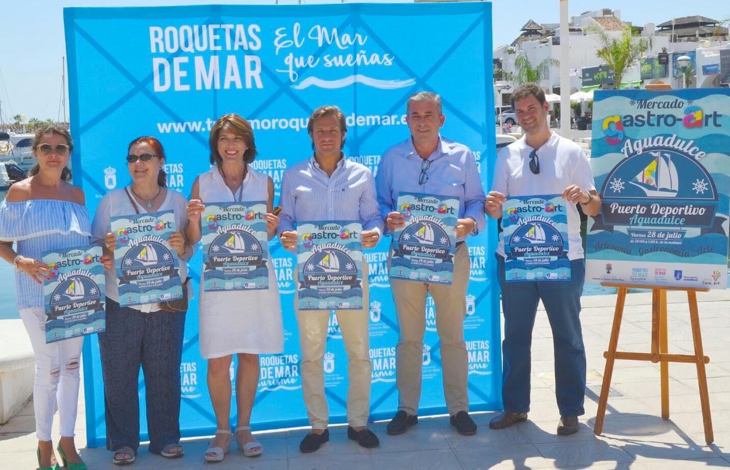 II Encuentro de creadores en el Puerto deportivo de Aguadulce