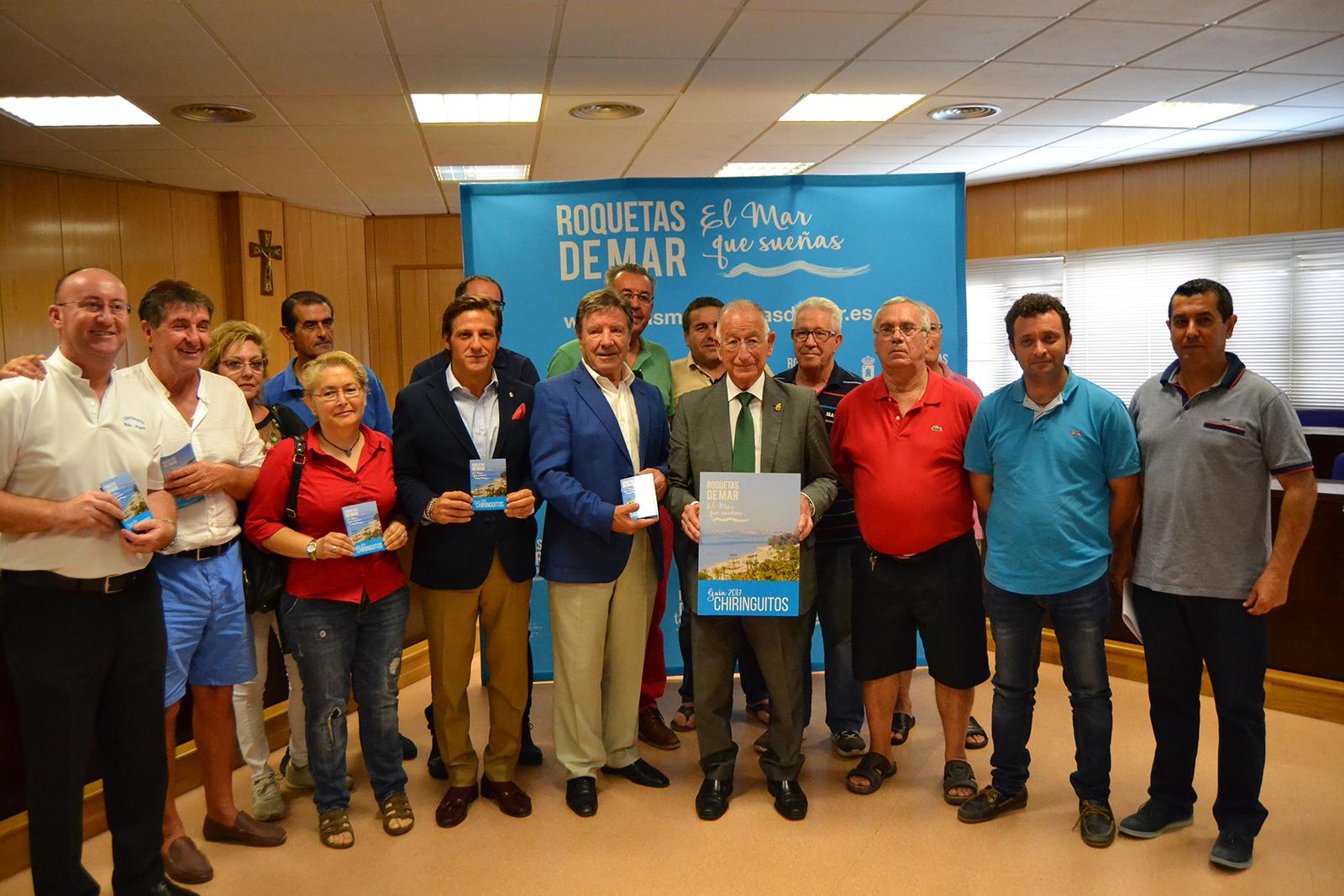 """Publicada la """"Guía Chiringuitos 2017"""" de Roquetas de Mar"""