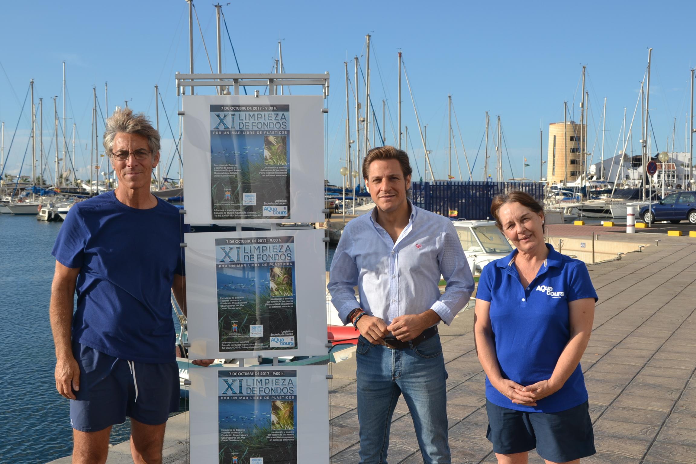 La Concejalía de Turismo organiza la XI Limpieza de Fondos Marinos