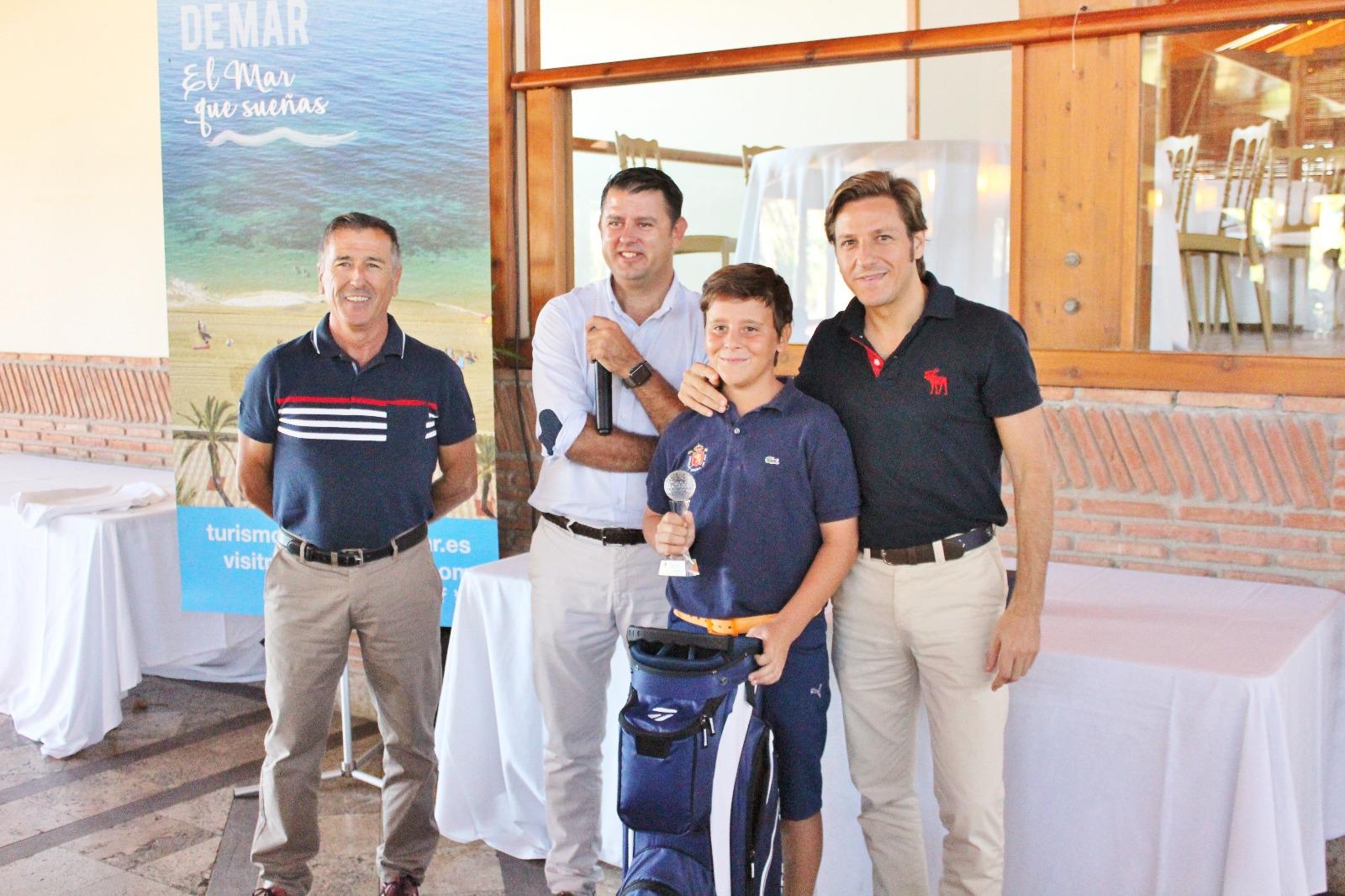 Más de un centenar de participantes en el Torneo de Golf Ayuntamiento de Roquetas de Mar celebrado en el Club de Playa Serena.