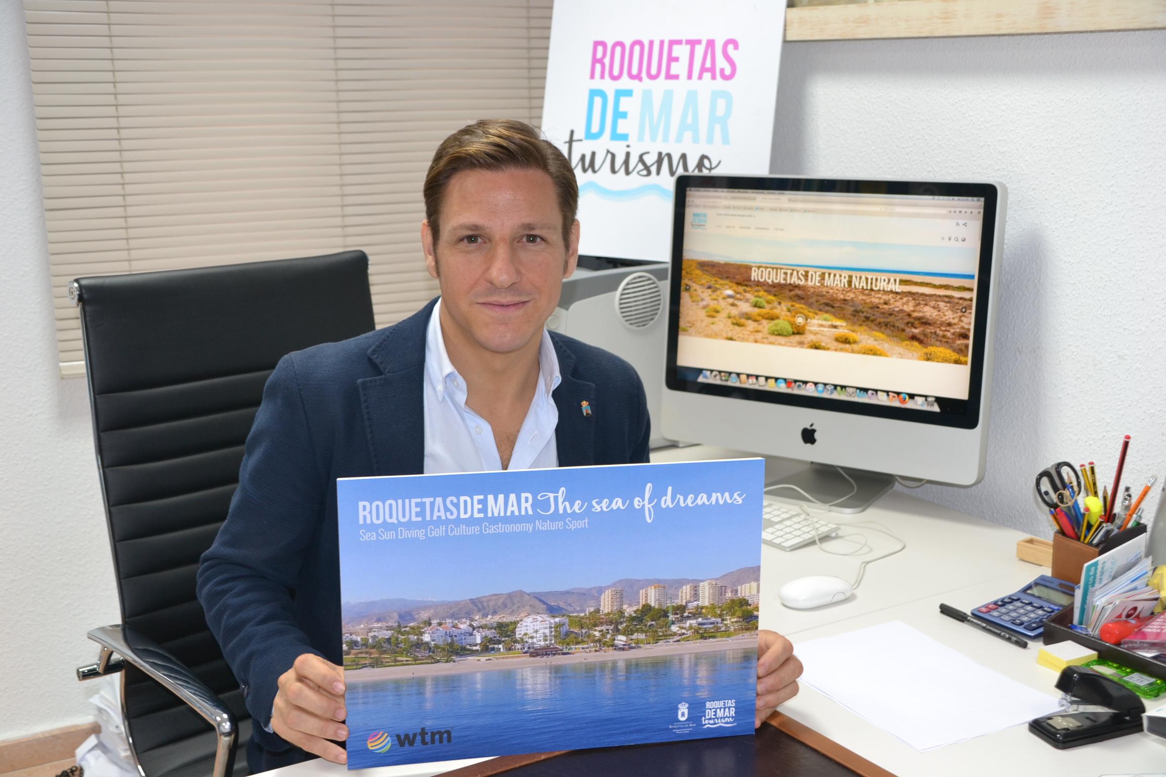 Roquetas estará presente en la World Travel Market para consolidar el destino en el mercado anglosajón