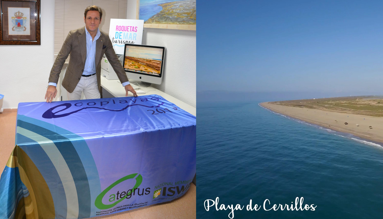 Roquetas de Mar, líder de Andalucía en banderas Ecoplayas