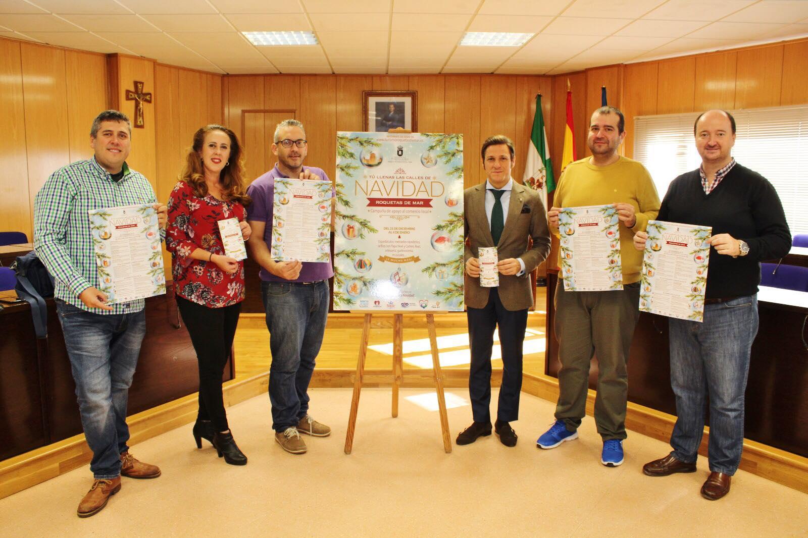 La Concejalía de Comercio programa 30 actividades navideñas para apoyar el comercio local