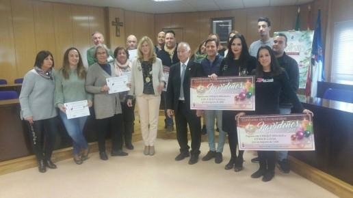 Premios escaparates Navidad Roquetas de Mar