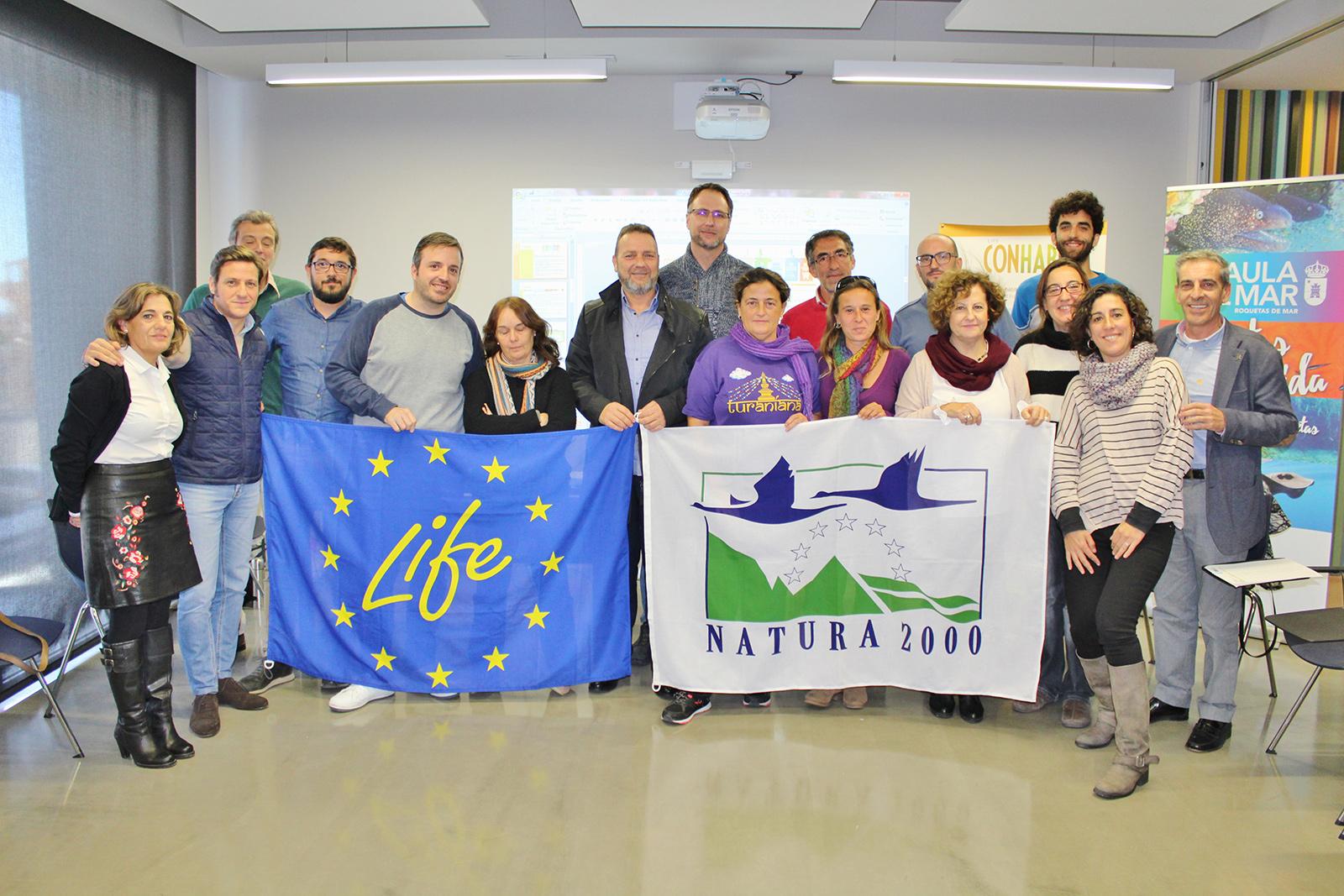 La puesta en valor y el uso sostenible de los espacios naturales a través del proyecto Life Conhabit