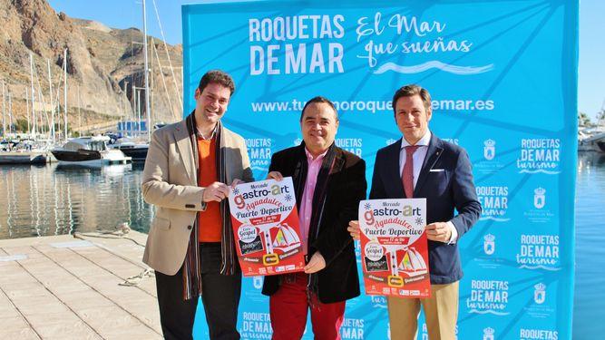 GastroArt, un mercado diferente en el Puerto de Aguadulce