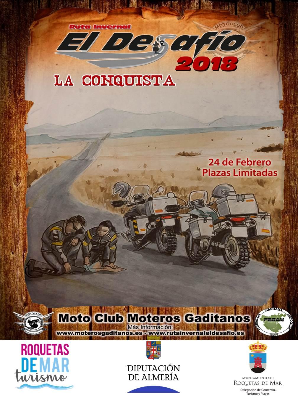 Arranca en Roquetas de Mar la 7º edición de la Ruta Invernal El Desafio 2018 – La Conquista