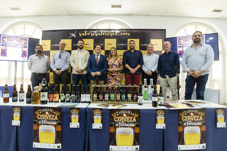 Roquetas y Diputación consolidan la Feria de la Cerveza como evento central del puente de mayo