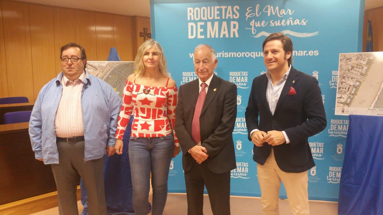 Las playas de Roquetas contarán este verano con dos canales de nado al sumarse uno nuevo en La Romanilla