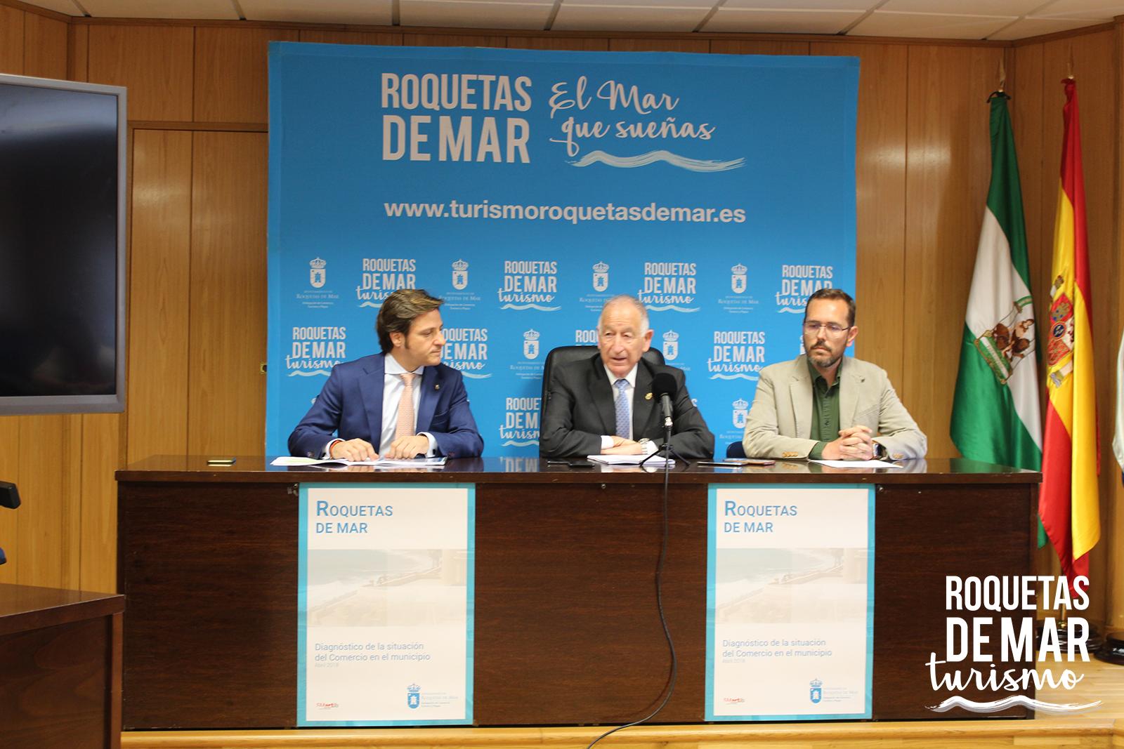 El Ayuntamiento presenta un diagnóstico del tejido comercial con el objetivo de redactar un plan estratégico