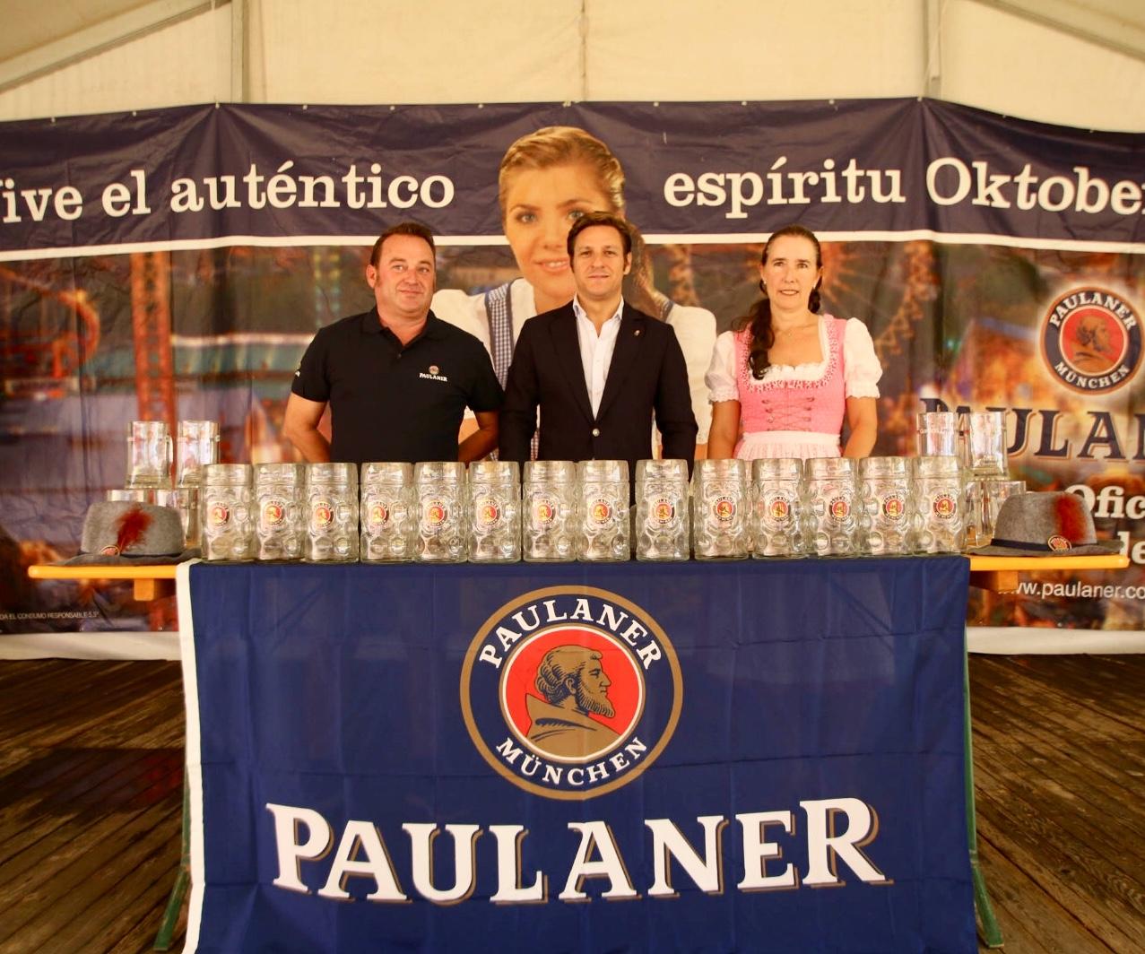 Gastronomía tradicional alemana en el Oktoberfest que se celebra este fin de semana en Roquetas de Mar