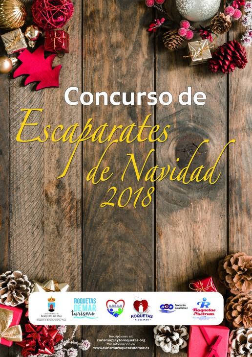 Concurso de Escaparates de Navidad 2018 - Roquetas de Mar