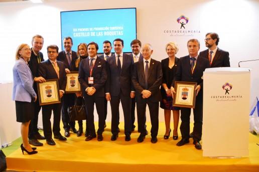 Entrega de premios 'Castillo de las Roquetas'