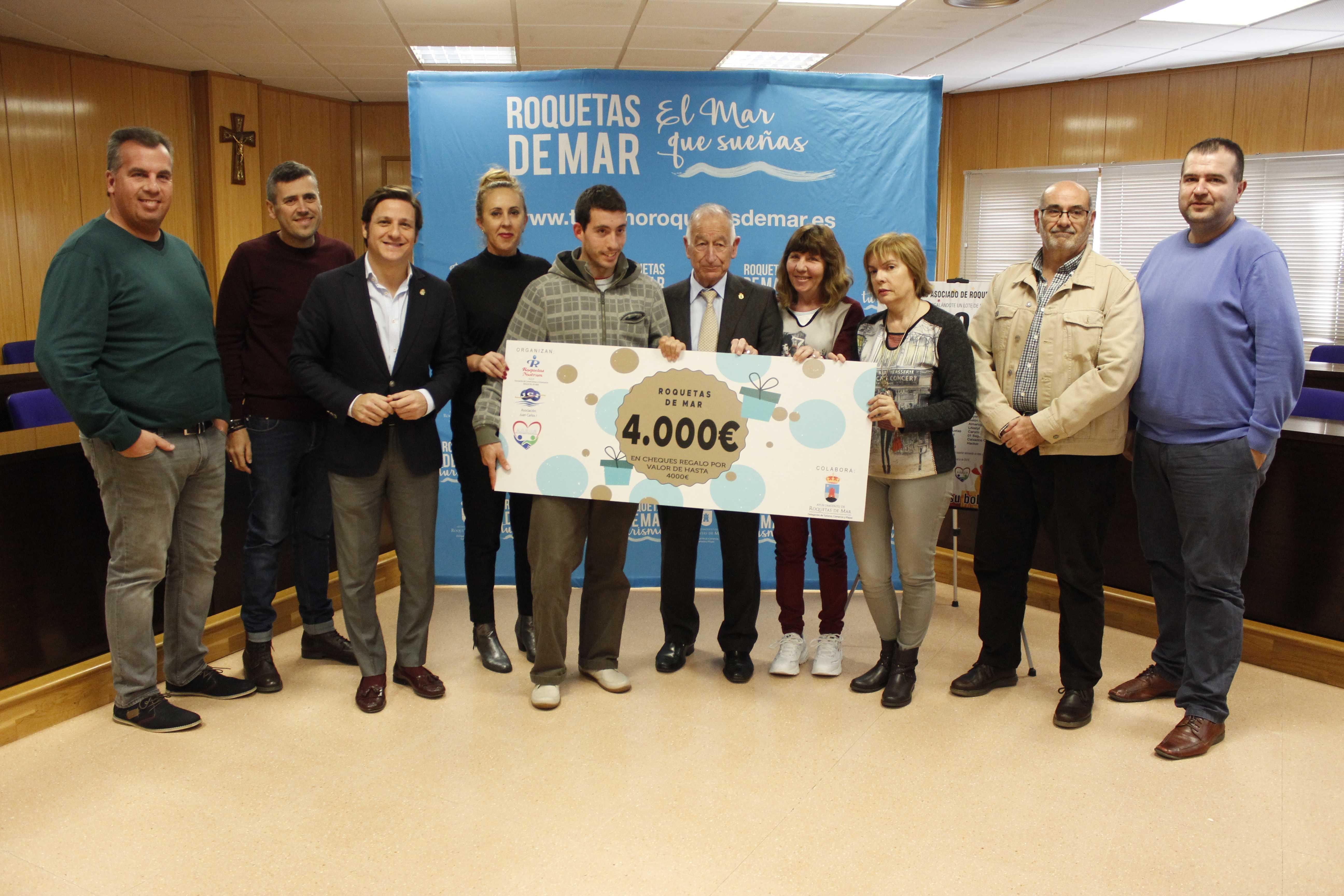 Cuatro mil euros en productos de comercios locales para premiar la fidelidad durante la campaña navideña