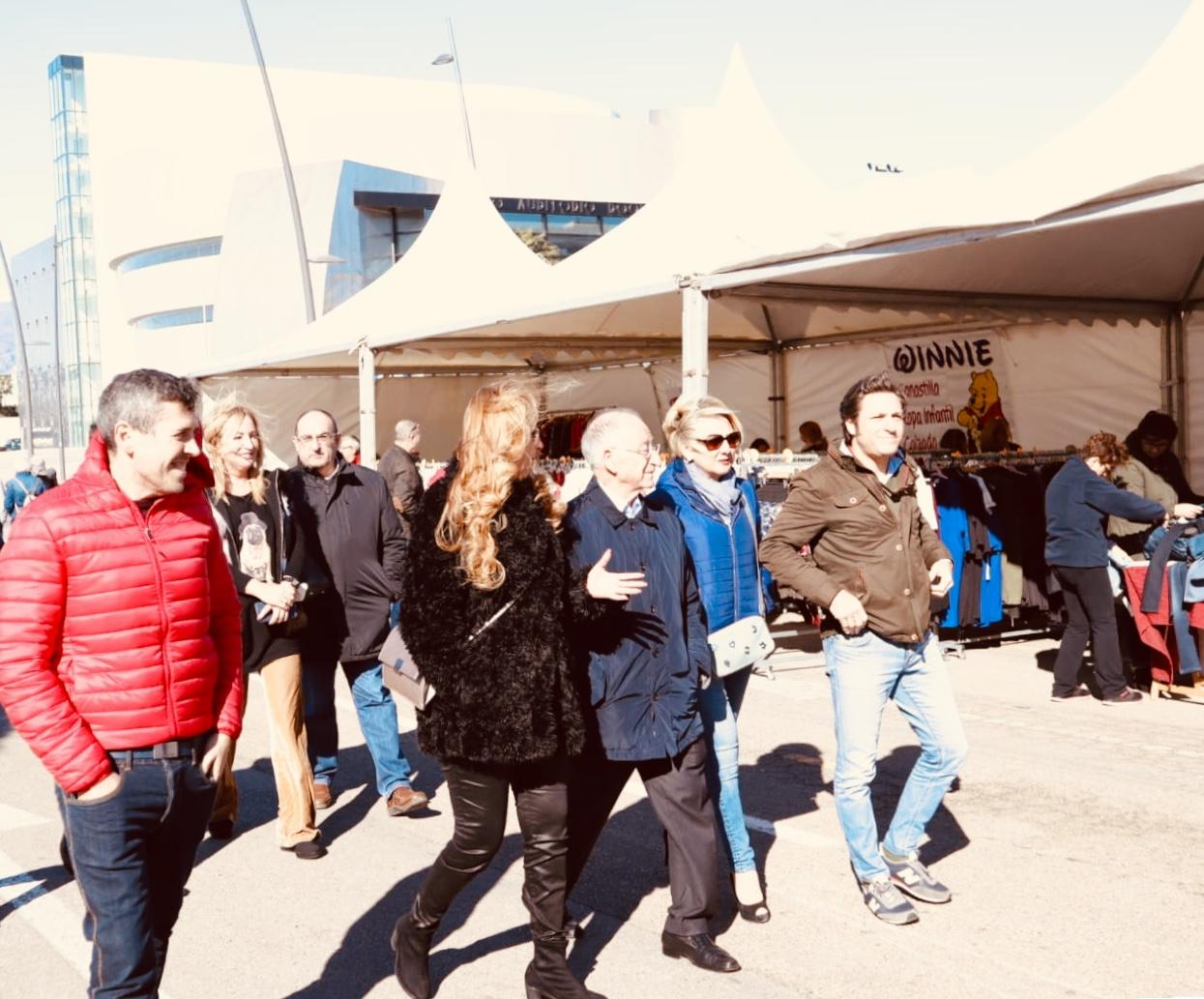Los comercios de Roquetas celebran una nueva edición de su Mercado de Saldos