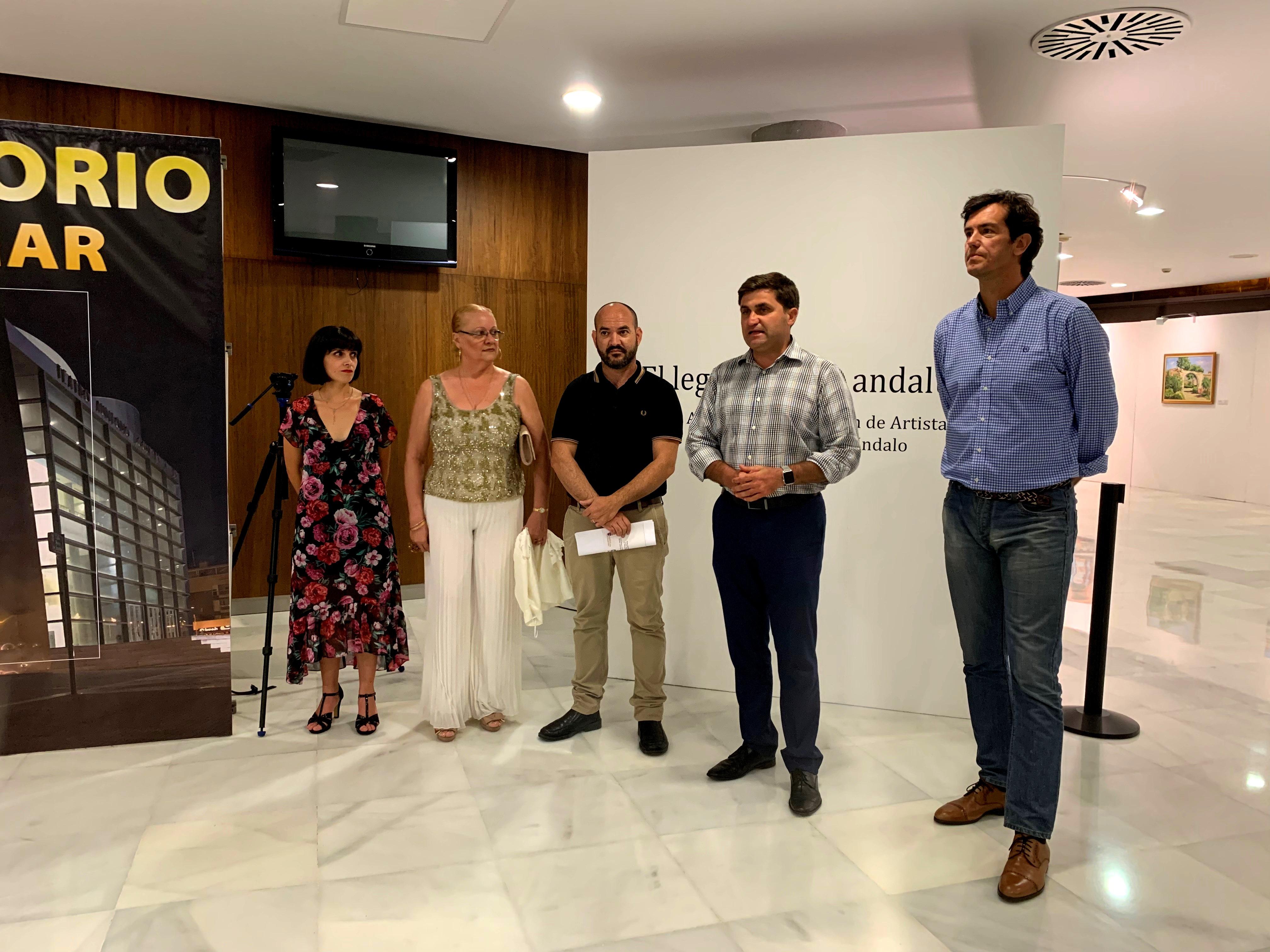 La Alcazaba, La Alhambra y las calles con más solera de Almería decoran el Teatro Auditorio